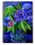 Hydrangeas 88 Spiral Notebook