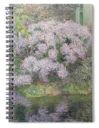 Hydrangeas On The Banks Of The River Lys Spiral Notebook