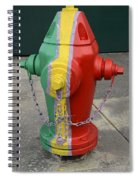 Hydrant With A Facelift Spiral Notebook