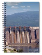 Hydroelectric Power Plants On River Industry Spiral Notebook