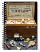 Hygienic Sanitary Appliances, 1895 Spiral Notebook