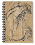 Hymen Mourning Spiral Notebook