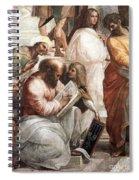 Hypatia Of Alexandria, Mathematician Spiral Notebook