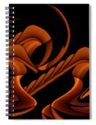 Hyper Sphinx Spiral Notebook