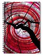 Hypnotic Nature Spiral Notebook