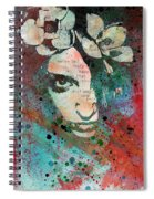 Hypothermia In A Halo Spiral Notebook