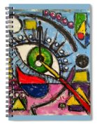 I Am All Spiral Notebook
