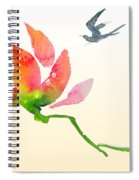 i Am Flying To You Spiral Notebook