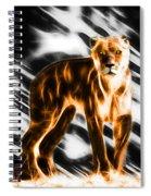 I Am The Lioness Spiral Notebook