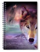 I Am Wolf Spiral Notebook