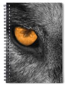 I Am Wolf Spiral Notebook