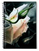 I Am Your Ghost Of A Rose Spiral Notebook