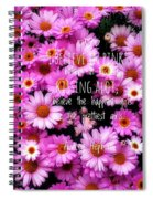 I Believe In Pink Daisies Spiral Notebook