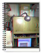 I C The Light - Use Red-cyan 3d Glasses Spiral Notebook
