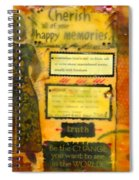 I Cherish All Memories Of You Spiral Notebook