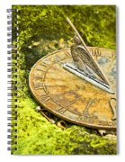 I Count None But Sunny Hours Spiral Notebook