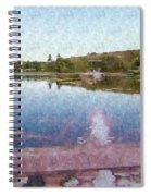 I Dreamed Of A Lake Spiral Notebook