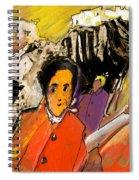 I Dreamt Of Oscar Wilde Spiral Notebook