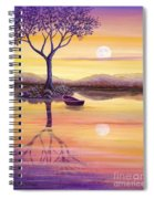 I Dreamt Of The Moon Spiral Notebook