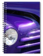 I Drove The Shevy Spiral Notebook