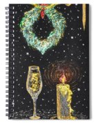 I Feel The Upcoming Holidays Spiral Notebook