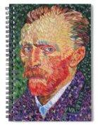 I Heart Van Gogh Portrait Of Vincent Spiral Notebook