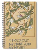 I Hold Out My Hand And My Heart Will Be In It 225 Spiral Notebook