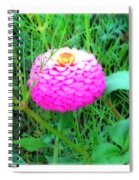 I Hope To See A Zinna Spiral Notebook