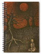 I In Night Think About You Spiral Notebook