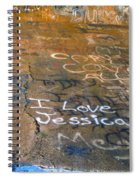 I Love Jessica Spiral Notebook