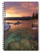 I Love Lake Tahoe Spiral Notebook