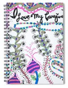 I Love My Caregiver Spiral Notebook