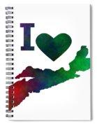 I Love Nova Scotia - Canada Spiral Notebook