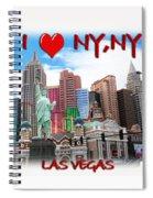 I Love Ny Ny Spiral Notebook