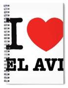 i love Tel Aviv Spiral Notebook