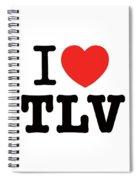 i love TLV Spiral Notebook