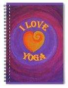 I Love Yoga Spiral Notebook