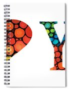 I Love You 14 - Heart Hearts Romantic Art Spiral Notebook