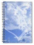 I Love You To The Clouds And Back Spiral Notebook