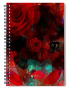 I Named You Rose Spiral Notebook