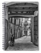 Barcelona Alleys Spiral Notebook