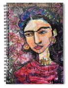 I Paint Flowers So They Will Not Die Spiral Notebook