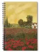 I Papaveri E La Calda Estate Spiral Notebook