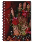 I Reach Love Peace In Life With My Hand Spiral Notebook