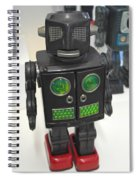 I Robot Spiral Notebook
