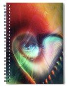I Saw The Light Spiral Notebook