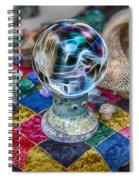 I See Painted Faces Spiral Notebook