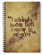 I Swear Spiral Notebook