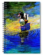 I Think I Will Stand Right Here Spiral Notebook