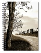 I Walk The Gravel Road 2 Spiral Notebook